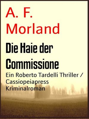 cover image of Die Haie der Commissione