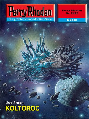 cover image of Perry Rhodan 2492