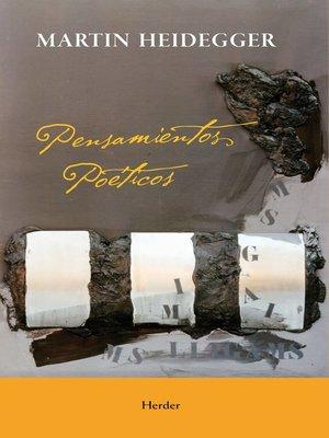cover image of Pensamientos poeticos