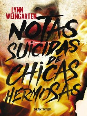 cover image of Notas suicidas de chicas hermosas