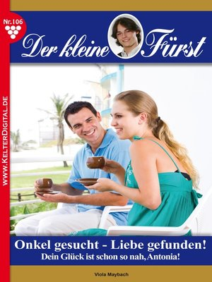 cover image of Der kleine Fürst 106 – Adelsroman