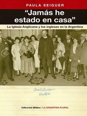 """cover image of """"Jamás he estado en casa"""""""