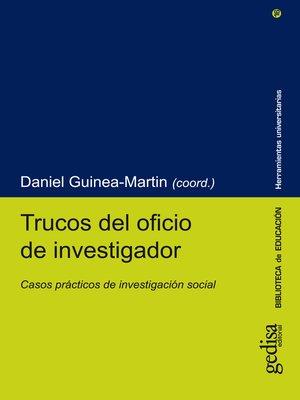 cover image of Trucos del oficio de investigador