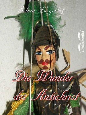 cover image of Die Wunder des Antichrist