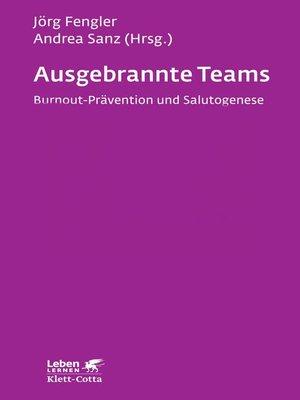 cover image of Ausgebrannte Teams