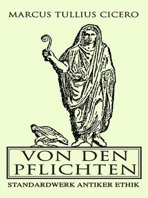 cover image of Von den Pflichten