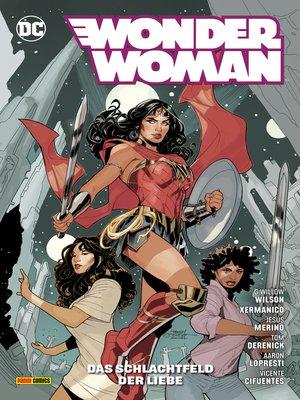 cover image of Wonder Woman--Das Schlachtfeld der Liebe