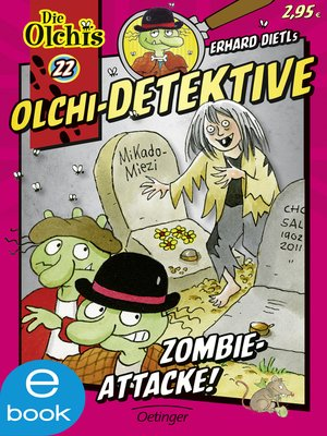 cover image of Olchi-Detektive. Zombie-Attacke!