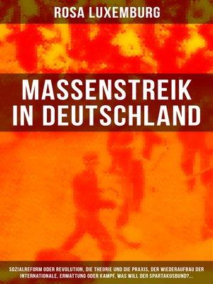 cover image of Massenstreik in Deutschland