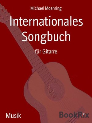 cover image of Internationales Songbuch