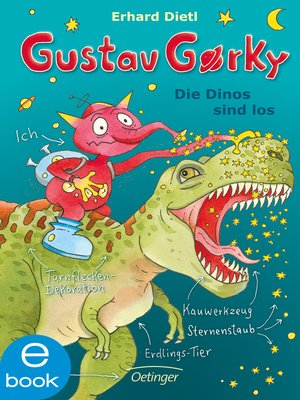 cover image of Gustav Gorky. Die Dinos sind los