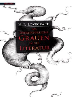 cover image of Das übernatürliche Grauen in der Literatur