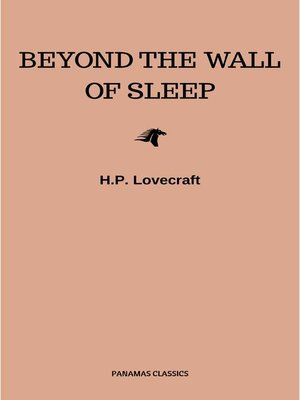 cover image of Beyond the Wall of Sleep