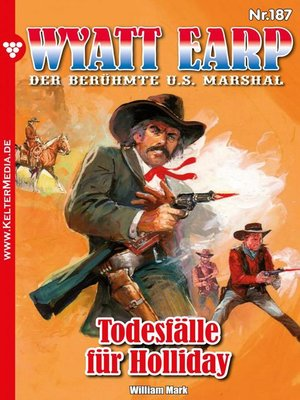 cover image of Wyatt Earp 187 – Western
