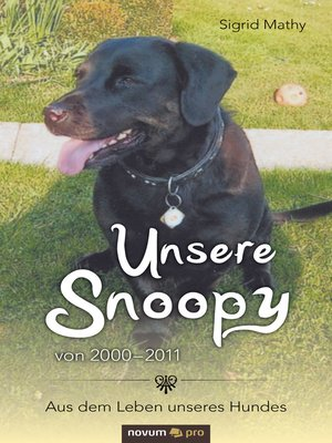 cover image of Unsere Snoopy von 2000–2011