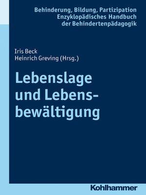 cover image of Lebenslage und Lebensbewältigung