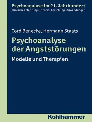 cover image of Psychoanalyse der Angststörungen
