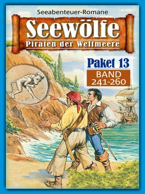 cover image of Seewölfe Paket 13