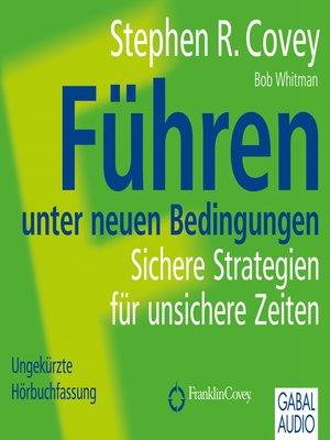 cover image of Führen unter neuen Bedingungen