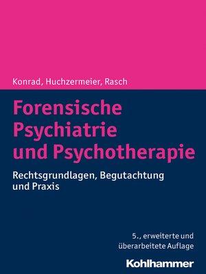 cover image of Forensische Psychiatrie und Psychotherapie