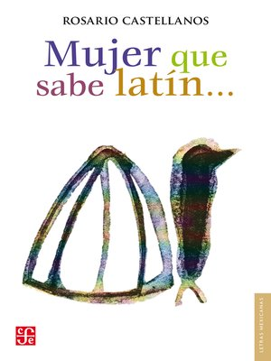 cover image of Mujer que sabe latín...