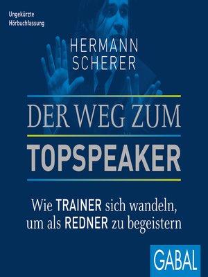 cover image of Der Weg zum Topspeaker