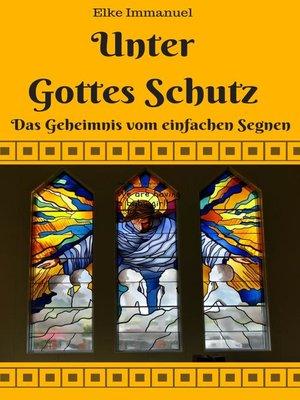 cover image of Unter Gottes Schutz
