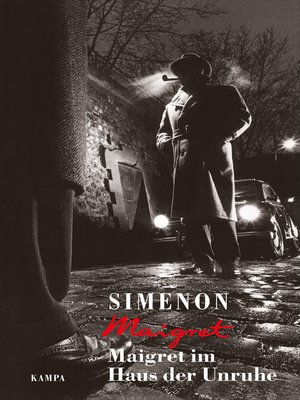 cover image of Maigret im Haus der Unruhe