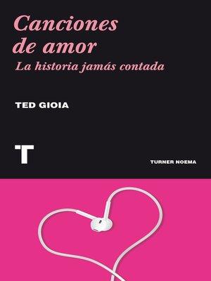 cover image of Canciones de amor