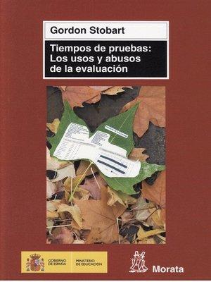 cover image of Tiempos de pruebas