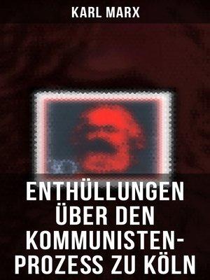 cover image of Enthüllungen über den Kommunisten-Prozeß zu Köln