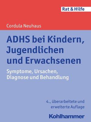 cover image of ADHS bei Kindern, Jugendlichen und Erwachsenen