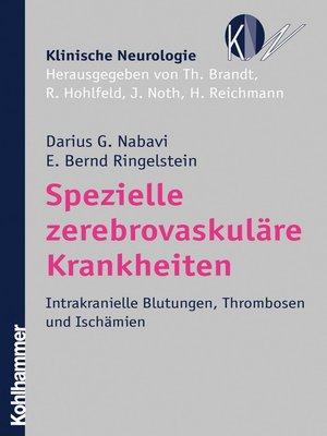 cover image of Spezielle zerebrovaskuläre Krankheiten