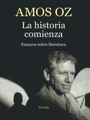 cover image of La historia comienza