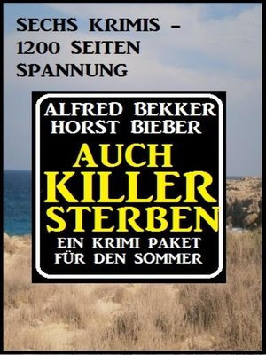 cover image of Auch Killer sterben
