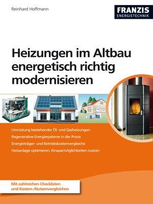 cover image of Heizungen im Altbau energetisch richtig modernisieren