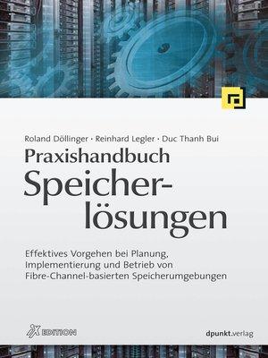 cover image of Praxishandbuch Speicherlösungen (iX Edition)