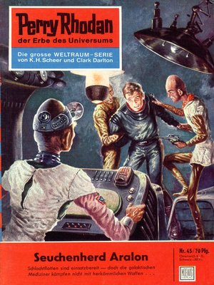 cover image of Perry Rhodan 45