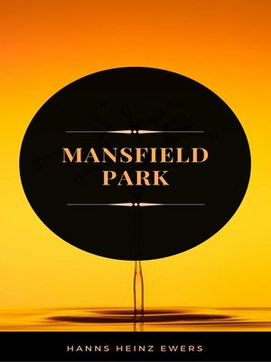 cover image of Mansfield Park (ArcadianPress Edition)
