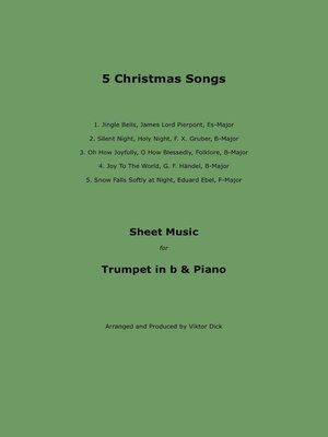 cover image of 5 Christmas Songs