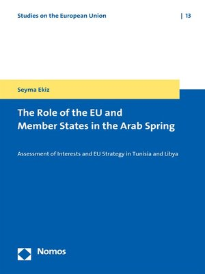 cover image of The Role of the EU and Member States in the Arab Spring