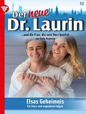 cover image of Der neue Dr. Laurin 13 – Arztroman