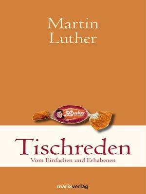 cover image of Tischreden