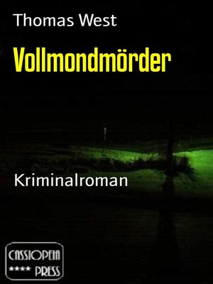 cover image of Vollmondmörder