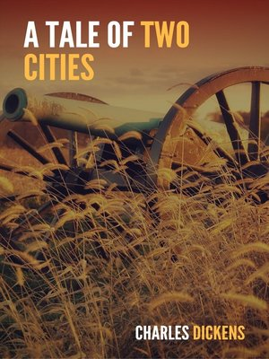 cover image of A Tale of Two Cities (Large Print Edition)