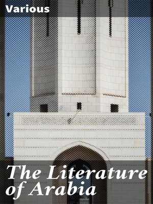 cover image of The Literature of Arabia