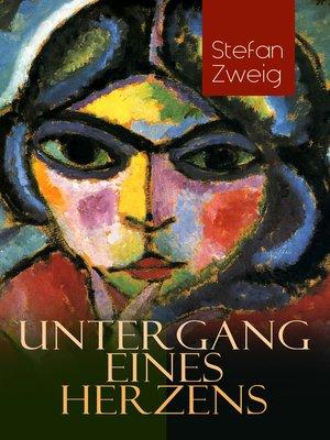 cover image of Untergang eines Herzens