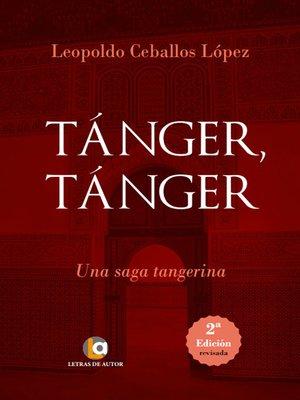 cover image of Tánger Tánger