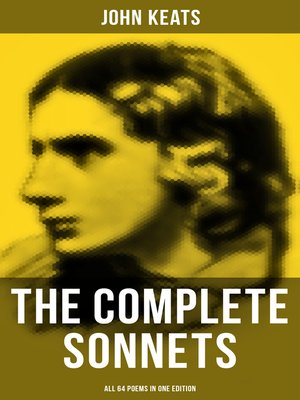 cover image of The Complete Sonnets of John Keats--All 64 Poems in One Edition