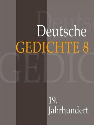 cover image of Deutsche Gedichte 8